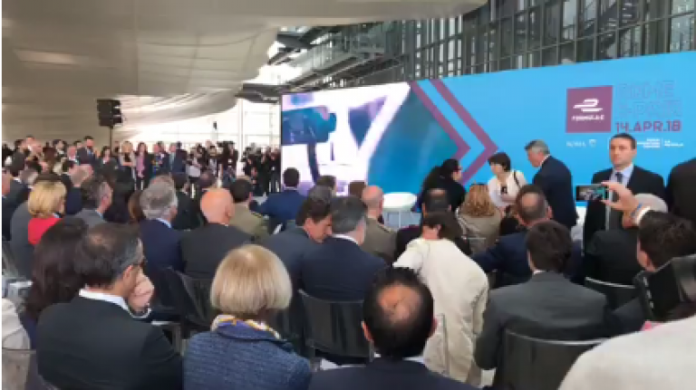 Presentazione Roma E-Prix 2018